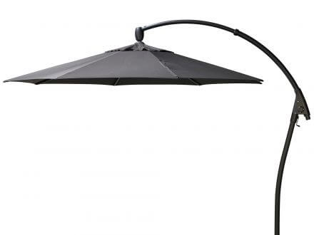 Bellagio Ampelschirm Manhattan Ø350cm Iron Grey