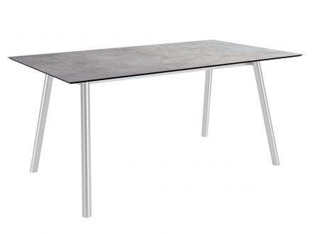 Stern Tischsystem Interno Rundrohr Edelstahl Silverstar 2.0