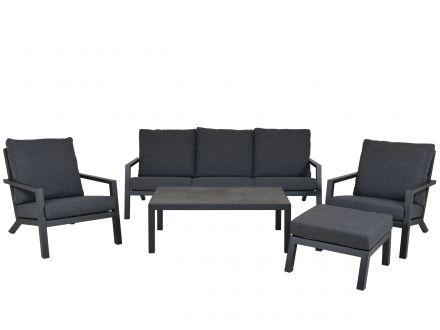 Vorschau: Modernes Aluminium Lounge Set