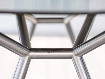 Vorschau: Stern Artus VIP Sessel Edelstahl mit Outdoorstoff