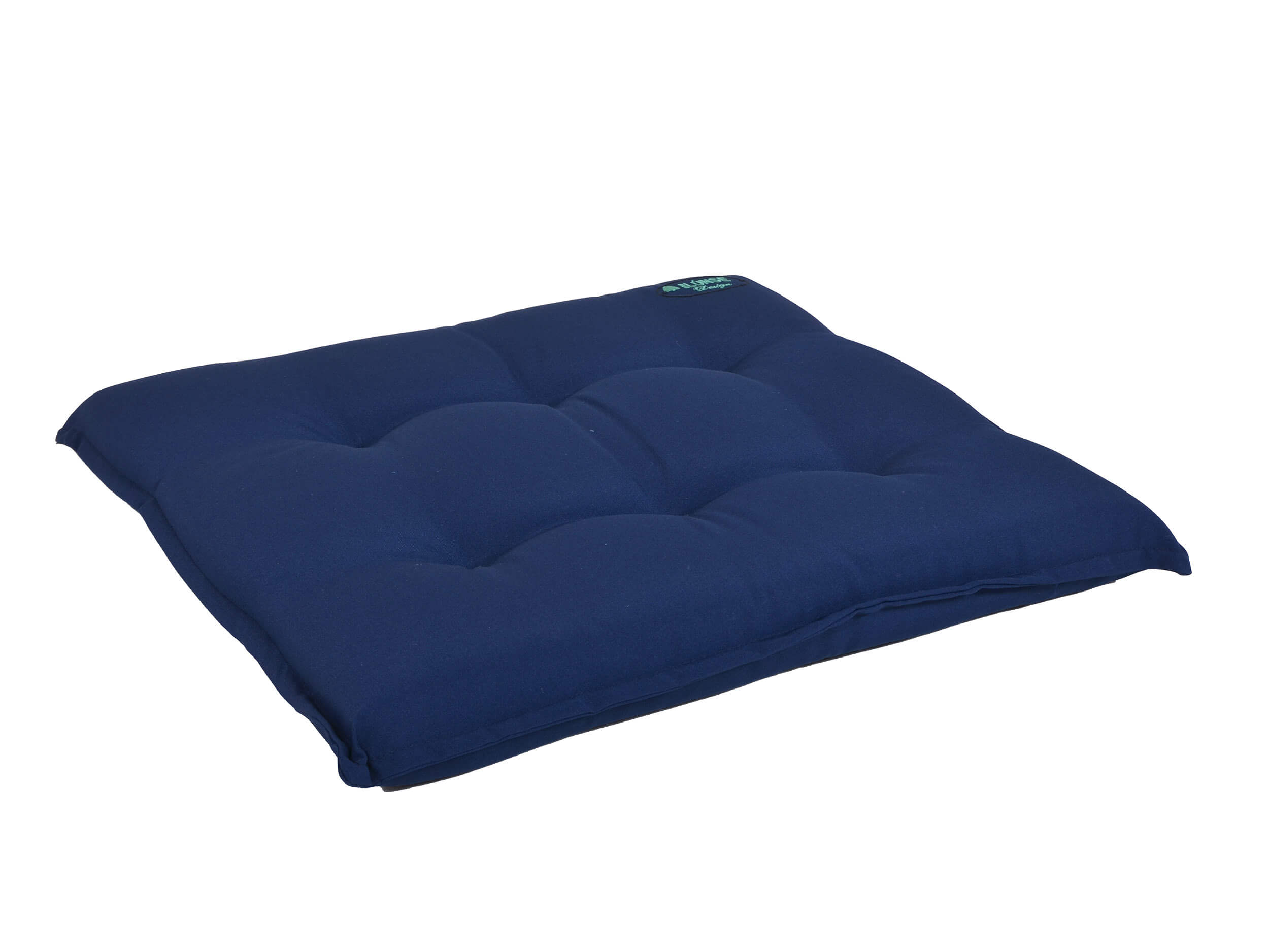 gartenstuhlkissen rechteckig 50x45cm blau gartenm bel l nse. Black Bedroom Furniture Sets. Home Design Ideas
