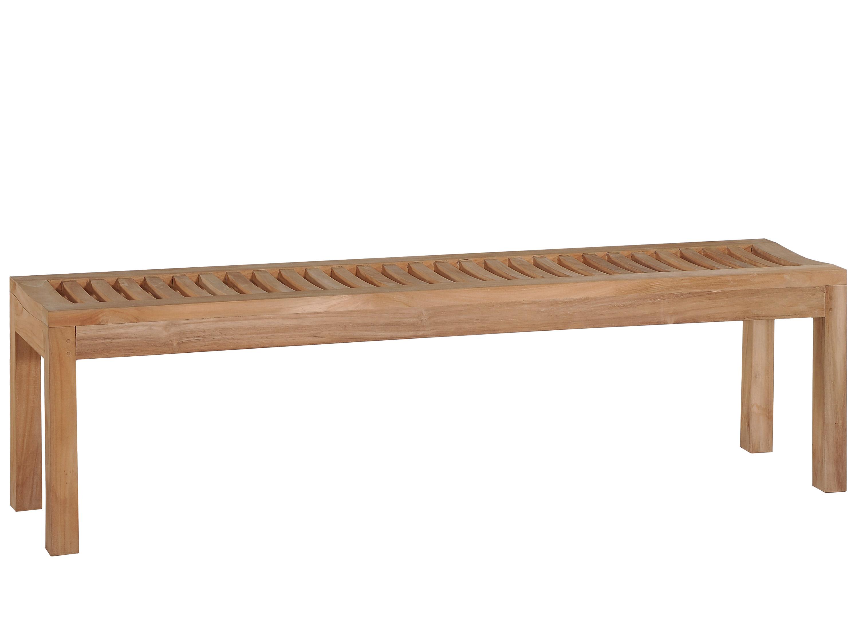 teakbank fiona gartenbank aus teakholz ohne lehne. Black Bedroom Furniture Sets. Home Design Ideas