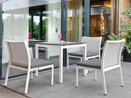 Vorschau: Ambientebild Sitzgruppe mit Dekor Zement