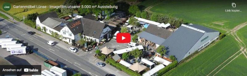 Imagevideo unser Gartenmöbel Ausstellung - jetzt bei YouTube ansehen
