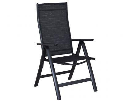 sun garden klappsessel london hoch anthrazit gartenm bel. Black Bedroom Furniture Sets. Home Design Ideas