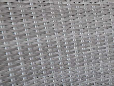 Vorschau: Lünse Geflechtsessel Marimo Farbe Old White