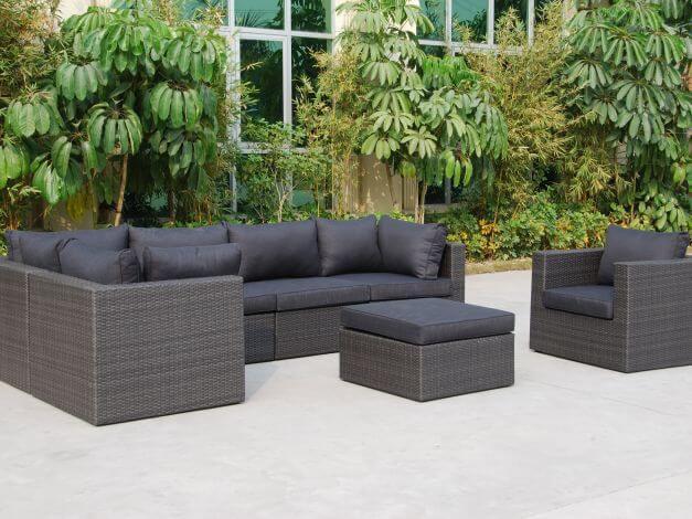 Loungegruppe Rio Modena - modular, vielseitig aufstellbar