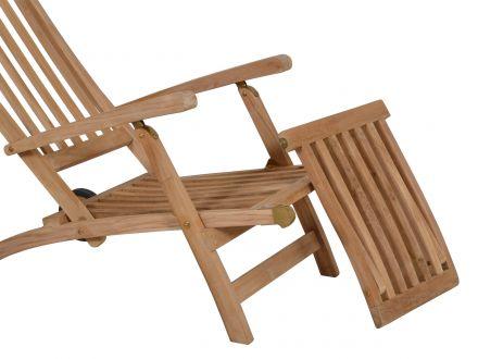 Vorschau: Detailbild Deckchair mit abnehmbarem Fußteil