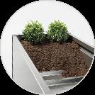 Biohort Pflanzbeet - inklusive Zwischenboden