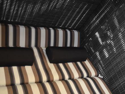 Vorschau: Strandkorb PURE Comfort XL grau