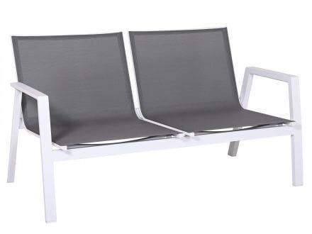 Vorschau: Sitz- und Rückenfläche mit Outdoorgewebe-Bespannung