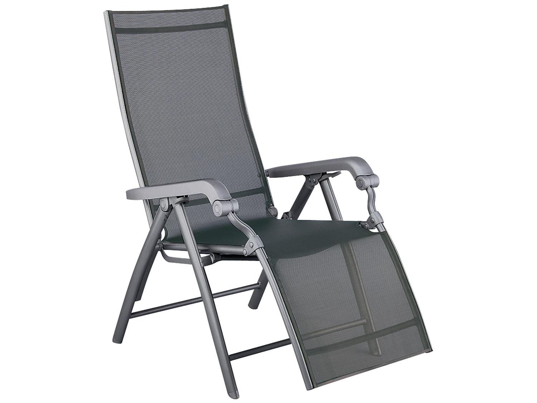 kettler relaxliege lucca anthrazit anthrazit gartenm bel l nse. Black Bedroom Furniture Sets. Home Design Ideas