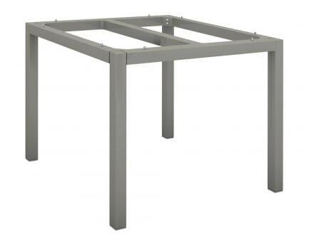 Vorschau: Stern Tischgestell Aluminium Vierkantrohr 80x80cm graphit