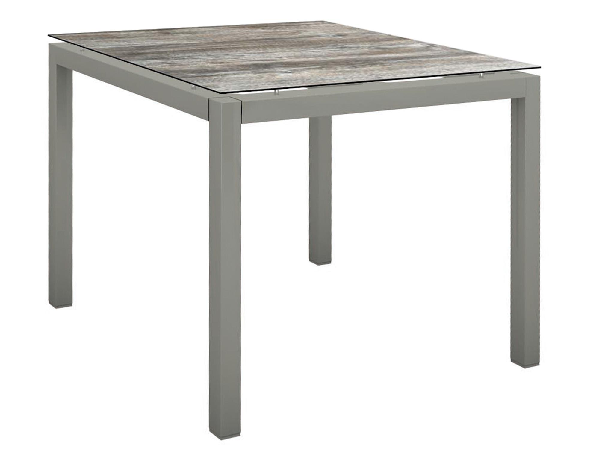 stern gartentisch 90x90cm aluminium graphit silverstar 2 0 gartenm bel l nse. Black Bedroom Furniture Sets. Home Design Ideas