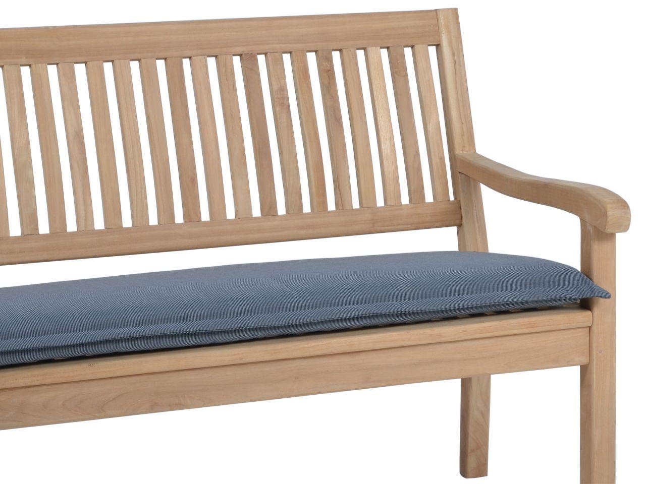 Bankauflage Malibu 3-Sitzer 140cm, Farbe: grey
