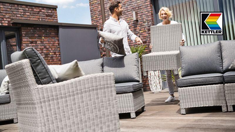 kettler palma modular gartenm bel l nse. Black Bedroom Furniture Sets. Home Design Ideas