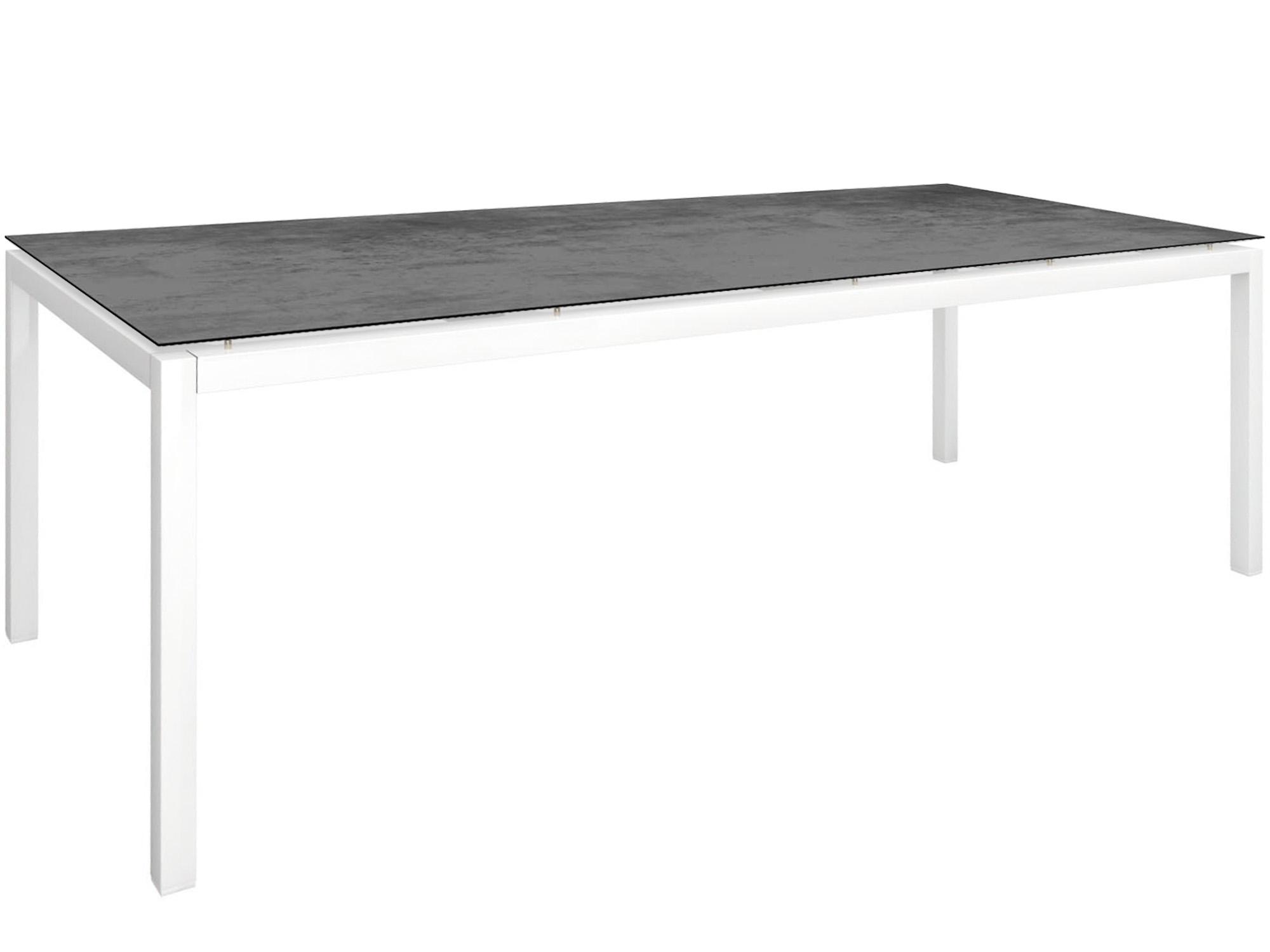 stern gartentisch 250x100cm aluminium wei silverstar 2 0 gartenm bel l nse. Black Bedroom Furniture Sets. Home Design Ideas