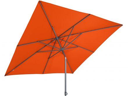 Vorschau: Sonnenschirm Push-Up Orange - beidseitige Schrägstellung