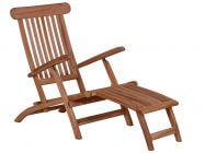 Lünse Teak Holz Deckchair John