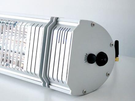 Vorschau: Infrarot-Heizstrahler Appino 20 Silver Detailbild