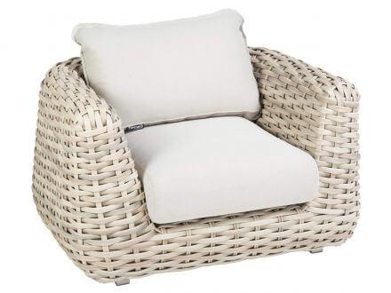 Tierra Outdoor XL Polyrattan Lounge Sessel Wakkanda