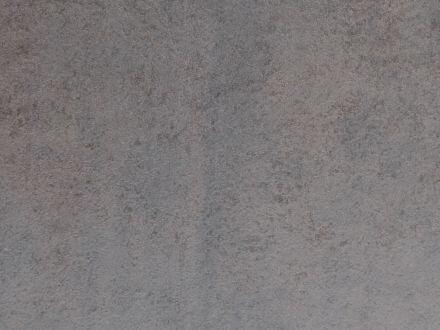 Vorschau: Gartentisch Ø110cm HPL Aluminium taupe