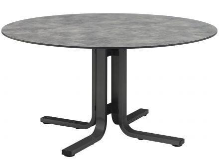 Kettler HPL Dining-Tisch Ø150cm silber/anthrazit
