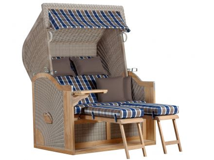 strandkorb de vries nautic xl rugbyclubeemland. Black Bedroom Furniture Sets. Home Design Ideas