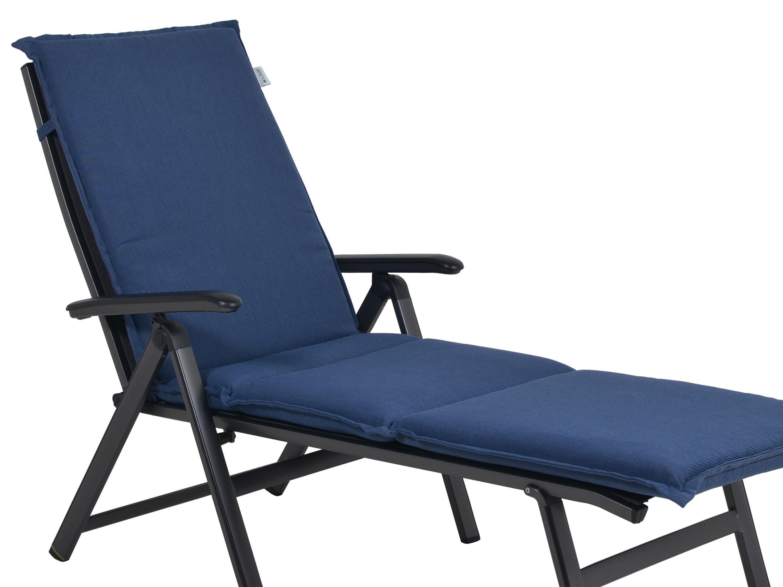 polsterauflage malibu f r gartenliege farbe denim blue gartenm bel l nse. Black Bedroom Furniture Sets. Home Design Ideas