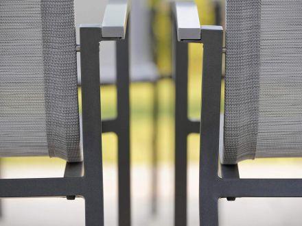 Vorschau: STERN Stapelsessel EVOEE Aluminium anthrazit|silber