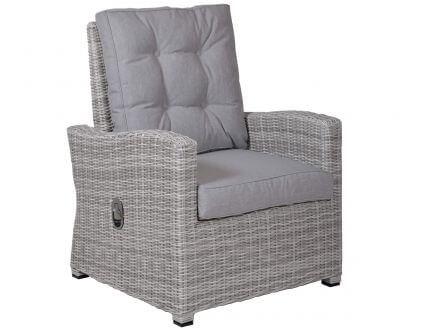 Vorschau: Lounge Sessel mit stufenlos verstellbarer Lehne