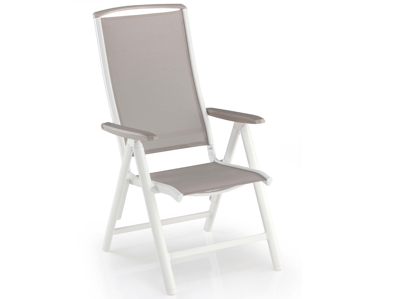 kettler vista multipositionssessel wei beach grey gartenm bel l nse. Black Bedroom Furniture Sets. Home Design Ideas