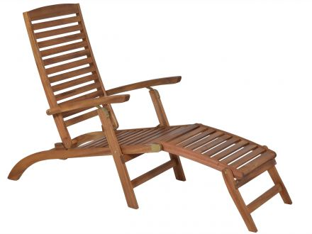 Lünse Holz Deckchair Bali Akazie geölt