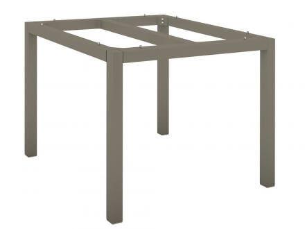 Vorschau: Tischgestell Aluminium Vierkantrohr 90x90cm taupe