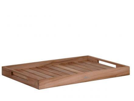Lünse Teakholz Tablett John 66x40cm