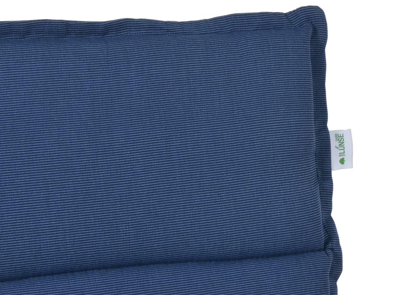 Auflage Malibu, Strukturpolyester, Farbe denim-blue