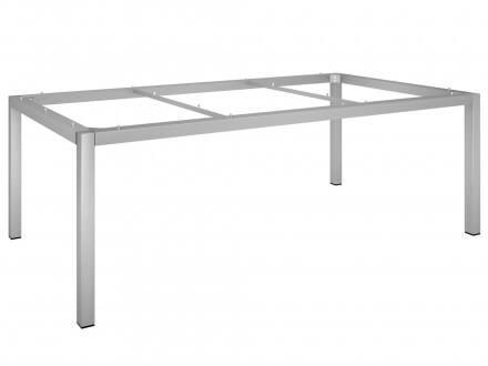 Stern Tischgestell Edelstahl Vierkantrohr 200x100cm