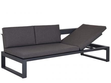 Lünse Multifunktionale Alu Lounge Liege Ventura rechts