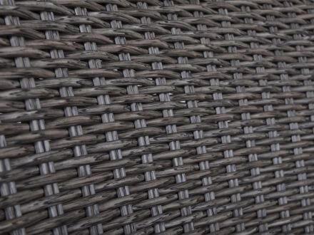 Vorschau: 6mm PE-Halbrundgeflecht ash-grey
