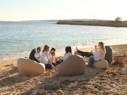 Vorschau: Ikoonz Outdoor Sitzsack EgXtreme Stoff Lounge