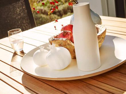 Vorschau: solpuri Classic Alu Dining-Tisch Teak