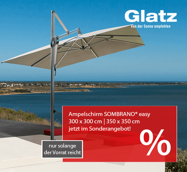 Glatz Ampelschirm SOMBRANO® easy - jetzt im SALE