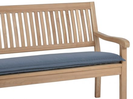Bankauflage Malibu 4-Sitzer 170cm, Farbe: grey