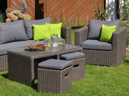 outdoor lounge gartenm bel set meridien 6 teilig gartenm bel l nse. Black Bedroom Furniture Sets. Home Design Ideas
