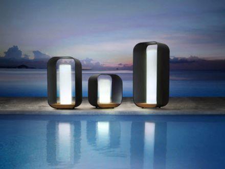 Vorschau: HIGOLD ONDA Aluminium LED Gartenleuchte Medium