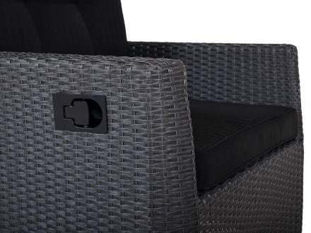 Vorschau: Sessel Victoria mit seitlichem Griff für stufenlose Lehnenverstellung