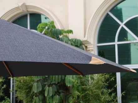Vorschau: Olefin Schirmbezug in der Farbe grau (anthrazit)