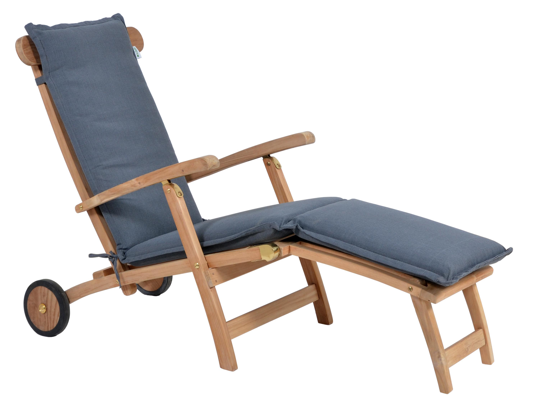 polsterauflage malibu f r deckchair farbe grey gartenm bel l nse. Black Bedroom Furniture Sets. Home Design Ideas