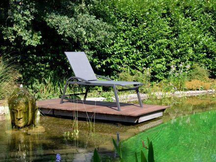 Vorschau: Alu Komfort Sonnenliege Karon Ambientebild