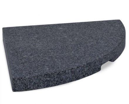 Lünse Universal Granitplatte für Ständerkreuze 27kg anthrazit